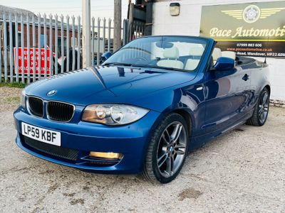 BMW 1 Series Convertible 2.0 120d SE 2dr