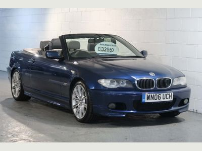 BMW 3 Series Convertible 2.5 325Ci M Sport 2dr