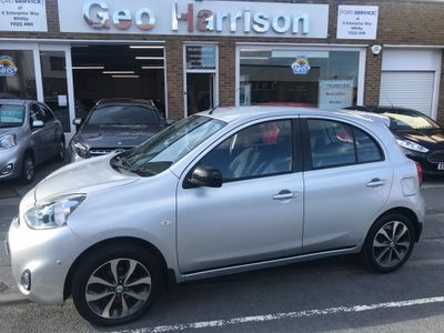 Nissan Micra Hatchback 1.2 Tekna 5dr (glass roof)