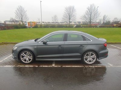 Audi A3 Saloon 2.0 TDI S line S Tronic quattro 4dr