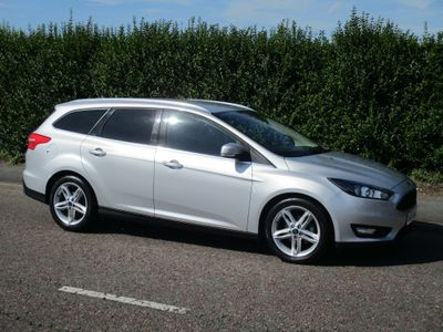 FORD FOCUS Estate 1.6 TDCi Zetec (s/s) 5dr