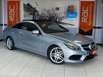 Mercedes-Benz E Class Coupe 3.0 E350 CDI BlueTEC AMG Line 9G-Tronic Plus (s/s) 2dr