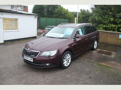 SKODA Superb Estate 1.6 TDI GreenLine III SE Business 5dr