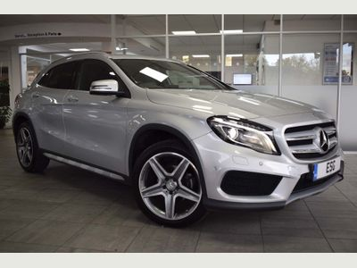 Mercedes-Benz GLA Class SUV 2.1 GLA200 AMG Line (Premium) 7G-DCT 4MATIC (s/s) 5dr