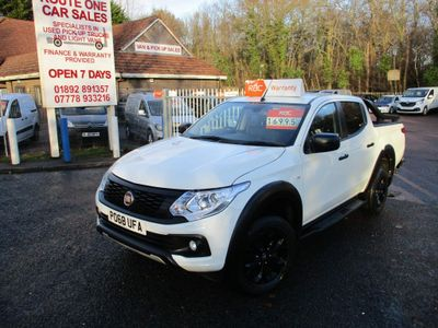 Fiat Fullback Pickup 2.4D Cross Double Cab Pickup 4WD 4dr