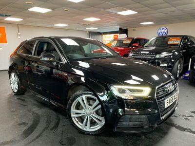Audi A3 Hatchback 2.0 TDI S line S Tronic quattro 3dr
