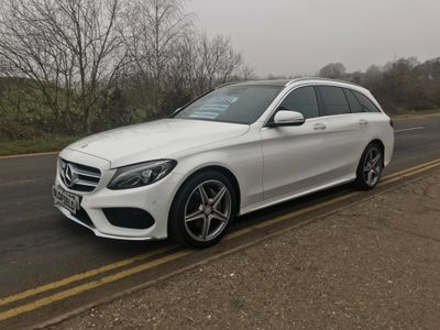 Mercedes-Benz C Class Estate 1.6 C200 CDI BlueTEC AMG Line G-Tronic+ (s/s) 5dr
