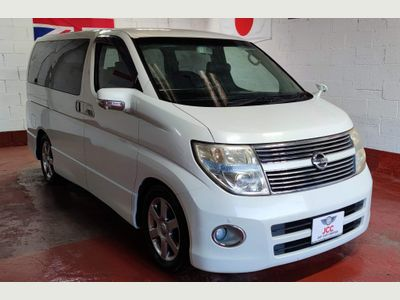 Nissan Elgrand MPV HIGHWAY STAR HEATED LEATHER 360 CAMERA