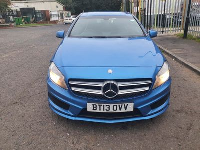 Mercedes-Benz A Class Hatchback 1.8 A200 CDI BlueEFFICIENCY AMG Sport 7G-DCT 5dr