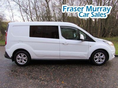 Ford Transit Connect Combi Van Ford Transit Connect LWB 6 Seat Crew Van