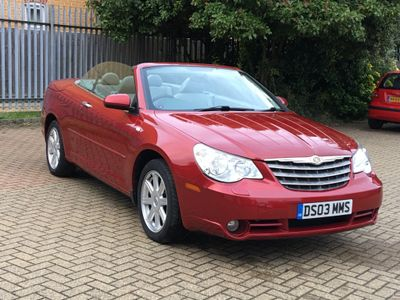 CHRYSLER SEBRING Convertible 2.0 CRD Limited 2dr