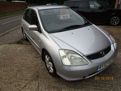 HONDA CIVIC Hatchback 2.0 i-VTEC Type S 5dr