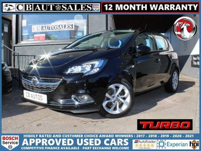 Vauxhall Corsa Hatchback 1.4i Turbo ecoTEC SRi Nav (s/s) 5dr
