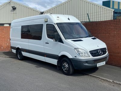 Mercedes-Benz Sprinter Panel Van 3.0 CDI 518 High Roof (LWB) AUTOMATIC