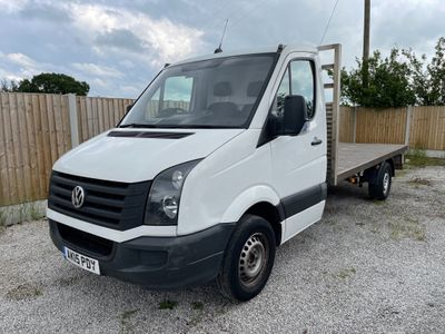 Volkswagen Crafter Chassis Cab 2.0 TDI CR35 MWB Chassis Cab 2dr (MWB)