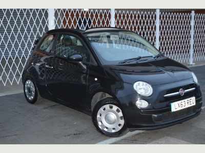 Fiat 500C Convertible 1.2 Pop Star Dualogic (s/s) 2dr