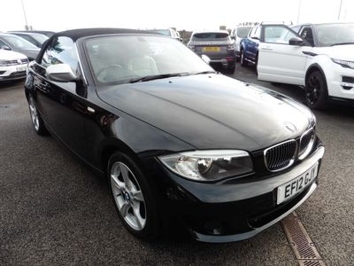 BMW 1 Series Convertible 2.0 120d Exclusive Edition 2dr