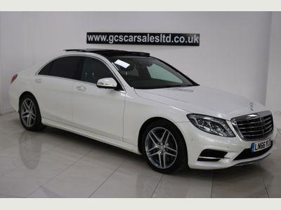Mercedes-Benz S Class Saloon 3.0 S350d AMG Line (Executive Premium) LWB Saloon 9G-Tronic Plus 4dr