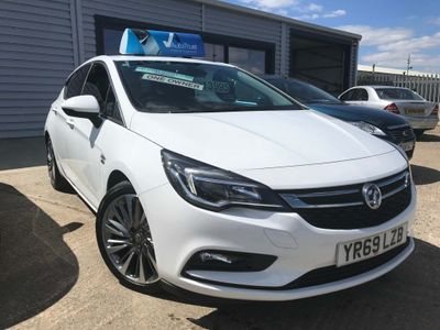 Vauxhall Astra Hatchback 1.4i Turbo Griffin Auto (s/s) 5dr