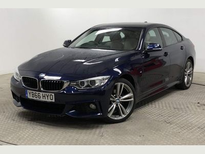 BMW 4 Series Gran Coupe Saloon 2.0 420i M Sport Gran Coupe Auto xDrive 5dr