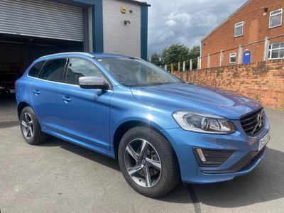 Volvo XC60 SUV 2.4 D5 R-Design Lux Nav Geartronic AWD 5dr