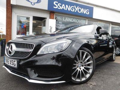 Mercedes-Benz CLS Coupe 3.0 CLS350 CDi BlueTEC AMG Line G-Tronic+ (s/s) 4dr