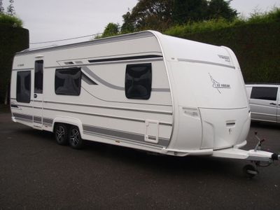 Fendt 650 LE VOGUE Tourer 5 BERTH,FIXED BED CARAVAN IN VERY GOOD CONDITION