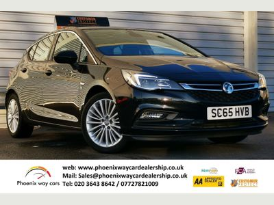 Vauxhall Astra Hatchback 1.0i Turbo ecoFLEX Elite (s/s) 5dr