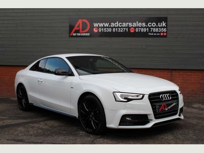 Audi A5 Coupe 1.8 TFSI Black Edition Plus (s/s) 2dr