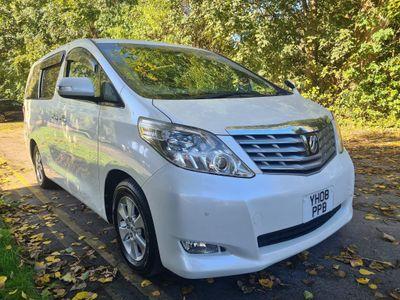 Toyota Alphard MPV 8 seater ulez compliant
