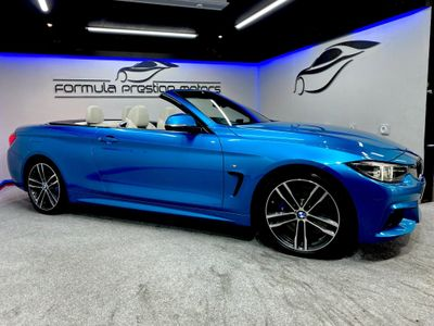 BMW 4 Series Convertible 3.0 440i M Sport Auto (s/s) 2dr