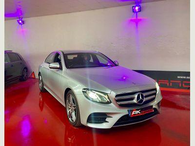 Mercedes-Benz E Class Saloon 2.0 E220d AMG Line G-Tronic+ (s/s) 4dr