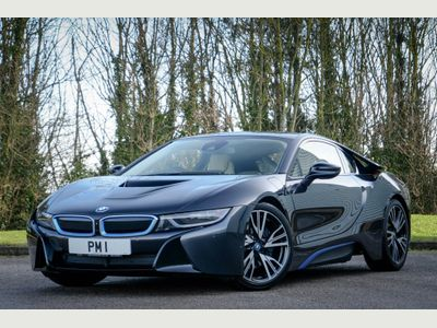 BMW i8 Coupe 1.5 7.1kWh Auto 4WD (s/s) 2dr