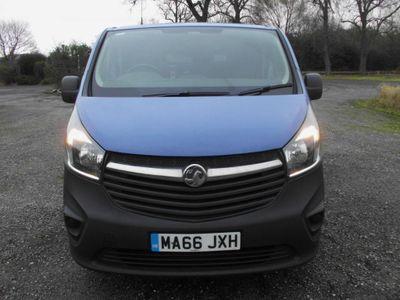 Vauxhall Vivaro Panel Van 1.6 CDTi 2700 L1 H1 EU6 5dr