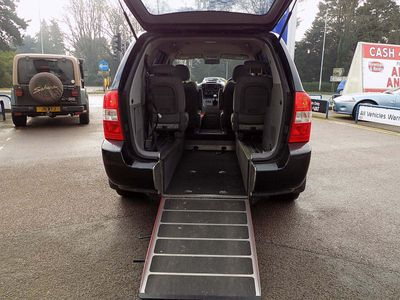 Kia Sedona MPV 2.9 GS (WAV) Wheel Chair Access Vehilce