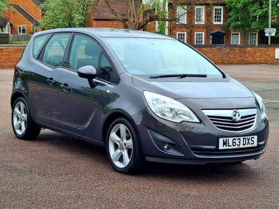 Vauxhall Meriva MPV 1.4 i 16v Tech Line 5dr (a/c)