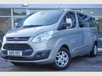 Ford Tourneo Custom Unlisted 2.2 TDCi 300 Limited Low Roof Bus L 5dr (8 Seats, LWB)