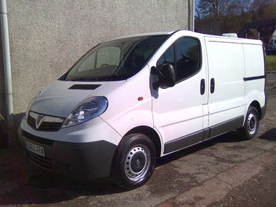 Vauxhall Vivaro Panel Van 2.0 CDTi 2700 Panel Van SWB 4dr (SWB, EU5)
