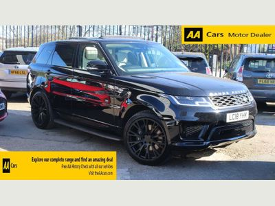 Land Rover Range Rover Sport SUV 2.0 P400e 13.1kWh HSE Auto 4WD (s/s) 5dr