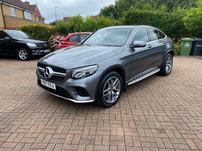 Mercedes-Benz GLC Class Coupe 2.1 GLC250d AMG Line (Premium) G-Tronic 4MATIC (s/s) 5dr