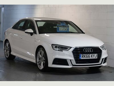 Audi A3 Saloon 1.6 TDI S line (s/s) 4dr