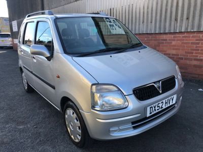 Vauxhall Agila Hatchback 1.2 i 16v Club SE 5dr