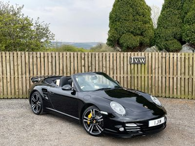 Porsche 911 Convertible 3.8 997 Turbo S Cabriolet PDK AWD 2dr