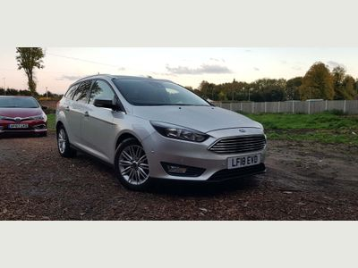 Ford Focus Estate 1.5 TDCi Zetec Edition Powershift (s/s) 5dr