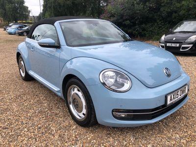 Volkswagen Beetle Convertible 1.4 TSI BlueMotion Tech Design Cabriolet 2dr
