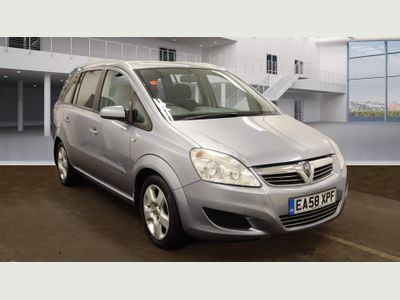 Vauxhall Zafira MPV 1.6 i 16v Breeze Plus 5dr