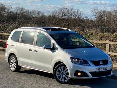 SEAT Alhambra MPV 2.0 TDI CR SE Lux 5dr