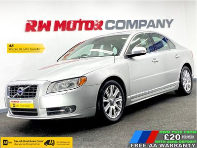 VOLVO S80 Saloon 2.4 D SE (Premium Pack) Geartronic 4dr