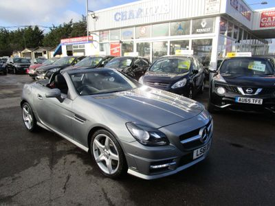 Mercedes-Benz SLK Convertible 1.8 SLK250 BlueEFFICIENCY AMG Sport 7G-Tronic Plus 2dr