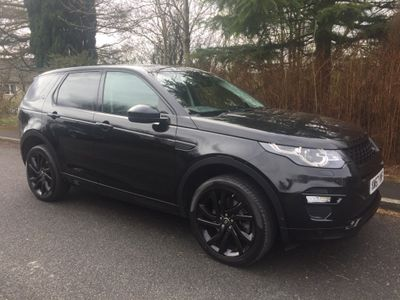 Land Rover Discovery Sport SUV 2.0 SD4 HSE Dynamic Lux Auto 4WD (s/s) 5dr 7 Seat